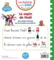 Les petits Sami et Julie maternelle ; le sapin de Noël - 4ème de couverture - Format classique