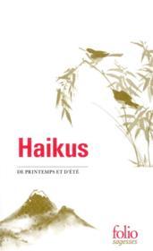 Haikus de printemps et d'été - Couverture - Format classique