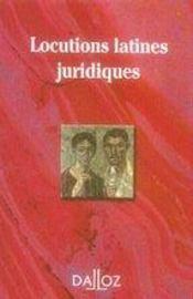 Locutions latines juridiques (2e édition) - Intérieur - Format classique