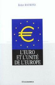 L'euro et l'unite de l'europe ; edition 2001 - Intérieur - Format classique