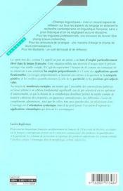 Mot de (le) - 4ème de couverture - Format classique