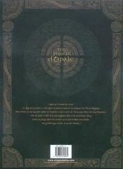 Les forêts d'Opale T.4 ; les gêoles de Nénuphe - 4ème de couverture - Format classique