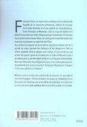 Le roman vrai du prétendant - 4ème de couverture - Format classique