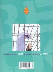 Beck t.2 - 4ème de couverture - Format classique