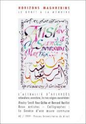 Revue Horizons Maghrebins N.40 ; L'Actualité D'Averroès - Couverture - Format classique