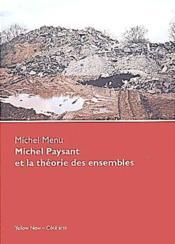 Michel Paysant et la théorie des ensembles - Couverture - Format classique