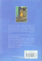 Les silences d'honorine - 4ème de couverture - Format classique