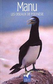 Manu, les oiseaux de Polynésie - Couverture - Format classique