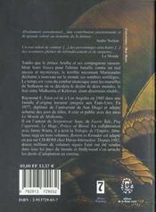 Les chroniques de Krondor t.4 ; ténèbres sur Sethanon - 4ème de couverture - Format classique