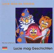 Lucie aime les histoires - Couverture - Format classique