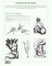 Ev-dessin de nus facile - 4ème de couverture - Format classique