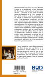 Commissaire Carlucci - 4ème de couverture - Format classique