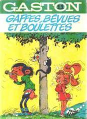 Gaston Lagaffe t.11 ; gaffes, bévues et boulettes - Couverture - Format classique