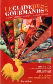 Guide des gourmands (édition 2011) - Couverture - Format classique