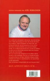 Guide des gourmands (édition 2011) - 4ème de couverture - Format classique