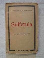 Suffetula - Couverture - Format classique