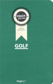 Coach perso ; golf - Couverture - Format classique