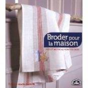 Broder pour la maison - Couverture - Format classique