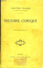 Histoire Comique. - Couverture - Format classique
