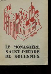 Le Monastere Saint-Pierre De Solesmes - Couverture - Format classique