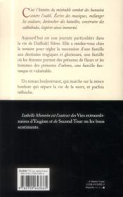 Daffodil Silver - 4ème de couverture - Format classique