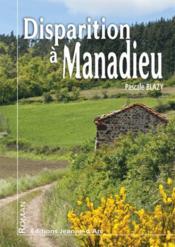 Disparition a manadieu - Couverture - Format classique