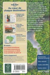 Brésil (10e édition) - 4ème de couverture - Format classique