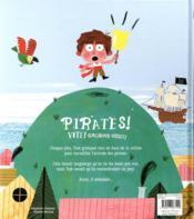 Pirates ! - 4ème de couverture - Format classique