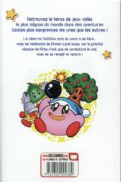 Les aventures de Kirby dans les étoiles T.7 - 4ème de couverture - Format classique