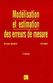 Modelisation et estimation des erreurs de mesure - Couverture - Format classique