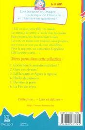 Lili La Souris Et Agnes La Tigresse - 4ème de couverture - Format classique