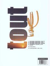 Tout Vance t.4 ; histoires complètes 1964-1967 - 4ème de couverture - Format classique