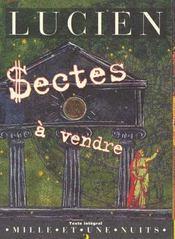 Sectes a vendre - Intérieur - Format classique