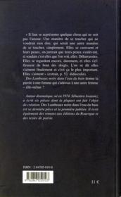 Des lambeaux noirs dans l'eau du bain - 4ème de couverture - Format classique