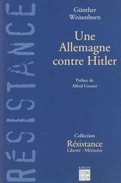 Une Allemagne Contre Hitler - Intérieur - Format classique