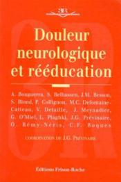 Douleur Neurologique Et Reeducation - Couverture - Format classique