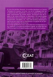 Campagne-ville : le pas de deux - enjeux et opportunites des recompositions territoriales - 4ème de couverture - Format classique