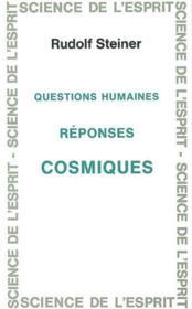 Questions humaines - Couverture - Format classique