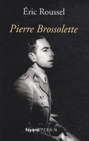 Pierre Brossolette - Couverture - Format classique