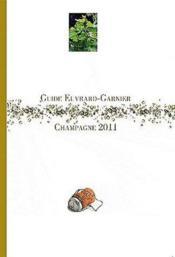 Guide Euvrard-Garnier, Champagne 2011 - Couverture - Format classique