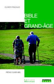 Bible et grand âge - Couverture - Format classique