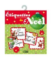 Étiquettes autocollantes pour les cadeaux du Père Noël boule verte - Couverture - Format classique