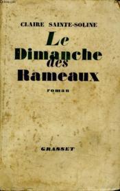 Le Dimanche Des Rameaux. - Couverture - Format classique