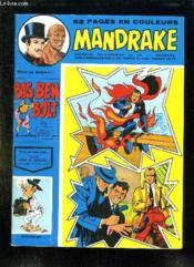 Mandrake N° 418. - Couverture - Format classique