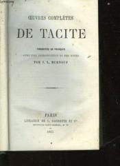 Oeuvres Completes De Tacite - Couverture - Format classique