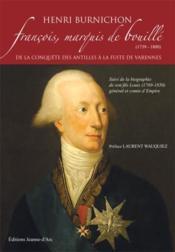 Francois, Marquis De Bouille - Couverture - Format classique