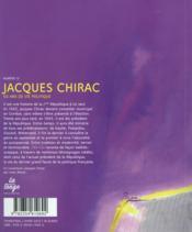 REVUE CHARLES N.12 ; Jacques Chirac ; 50 ans en politique - 4ème de couverture - Format classique
