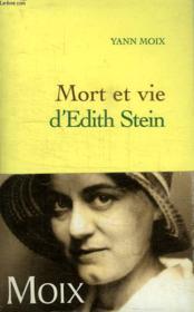 Mort et vie d'Edith Stein - Couverture - Format classique