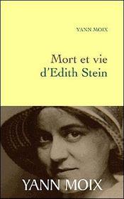 Mort et vie d'Edith Stein - Intérieur - Format classique