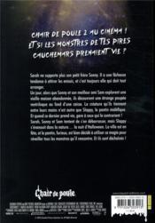 Chair de poule 2 ; les fantômes d'halloween, le roman du film - 4ème de couverture - Format classique